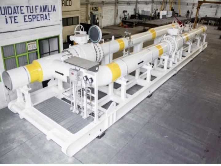 Patines modulares de procesos industriales